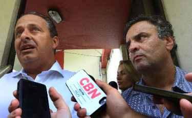 Em S�o Paulo, o ex-governador Eduardo Campos dar� suporte ao palanque de reelei��o do governador Geraldo Alckmin, cujo presidenci�vel � A�cio Neves Teresa Maia/DP/D.A Press (Teresa Maia/DP/D.A Press)