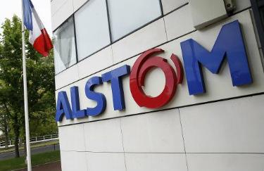 Sede do grupo Alstom em Levallois-Perret, Fran�a � AFP Patrick Kovarik
