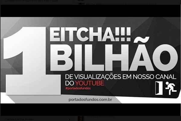 de visualizações no canal do YouTube | Viver: Diario de Pernambuco