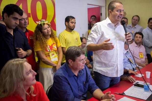 Ex-governador de Pernambuco n�o tem palanque pr�prio em estados como Rio de Janeiro e S�o Paulo. Foto: Alexandre Severo/SPB