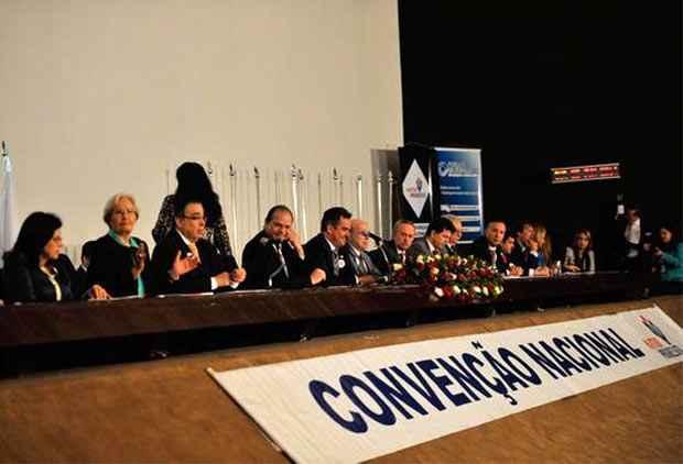 Enquanto os integrantes do PP se dividiam no Senado, na C�mara a presidente era aplaudida diante da batuta de Gilberto Kassab. Foto: Ant�nio Cruz/ABR