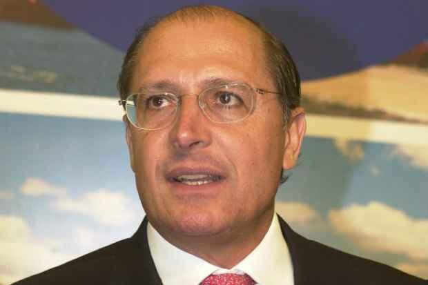 O PSDB de S�o Paulo realiza, na manh� deste domingo, sua conven��o para ratificar o nome do governador Geraldo Alckmin como candidato � reelei��o. Foto: Glauco Spindola/D.P/D.A Press.