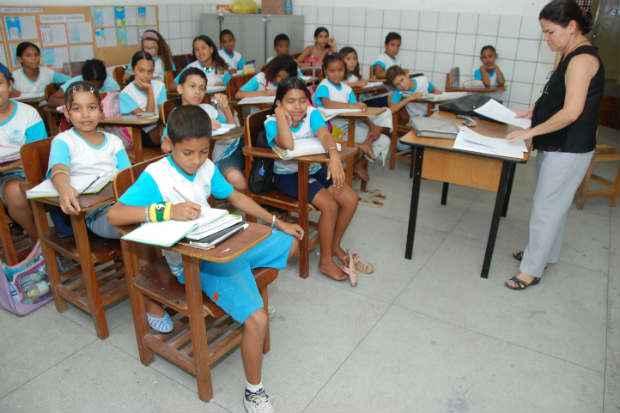 De acordo com o levantamento, somente 12,6% dos professores brasileiros consideram-se valorizados. Foto: Cecilia de Sa Pereira/Esp.D.P/DA Press.