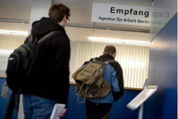 Centro para desempregados em Berlim. Foto: � AFP/Odd Andersen (Centro para desempregados em Berlim. Foto: � AFP/Odd Andersen)
