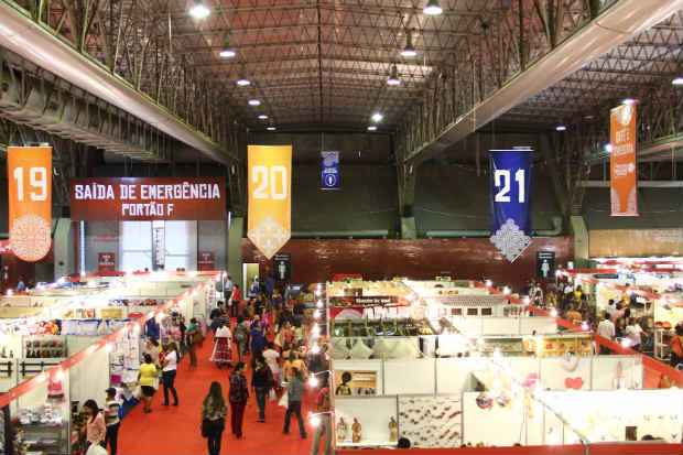 Expectativa � que a feira consiga atrair mais de 320 mil pessoas durante seus 11 dias de realiza��o. Foto: Arthur de Souza/Esp.DP/D.A Press