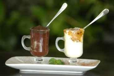 No Caf� Porte�o, o consumo de bebidas com chocolate aumentou 25%. Foto: Teresa Maia/DP/D.A Press