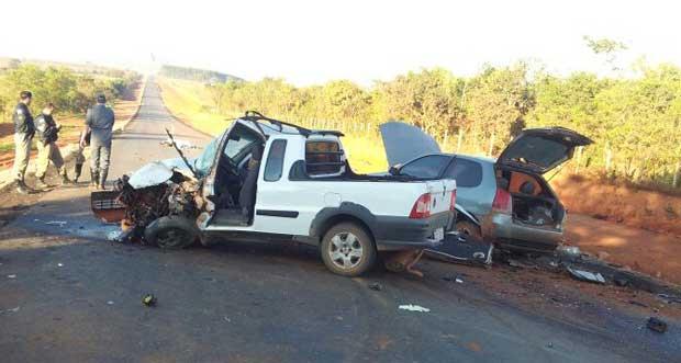 Cinco pessoas morreram em acidente na MG-170 (PRF de Formiga/Divulga��o)