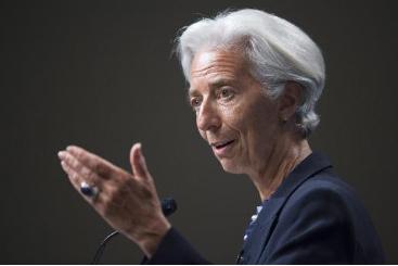Christine Lagarde, diretora-gerente do Fundo Monet�rio Internacional, em Washington no dia 2 de julho de 2014. Foto: � AFP/Arquivos Jim Watson (Christine Lagarde, diretora-gerente do Fundo Monet�rio Internacional, em Washington no dia 2 de julho de 2014. Foto: � AFP/Arquivos Jim Watson)