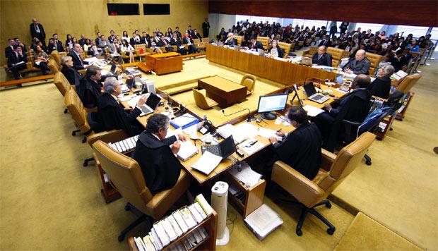 Plen�rio do Supremo decidiu que o resultado do julgamento de a��o movida por cidade pernambucana ser� aplicado em todo o pa�s. Foto: Nelson Jr./STF