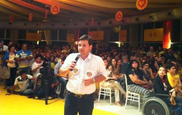 Prefeito Geraldo Julio faz balan�o das gest�es socialistas. Foto: Ros�lia Rangel/DP/D.A Press