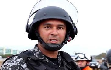 Policial ganhou visibilidade depois de justificar que jogou spray de pimenta contra manifestantes