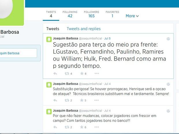 O presidente do STF � um dos ministros mais populares da hist�ria do Poder Judici�rio no Brasil. Foto: Twitter/Reprodu��o