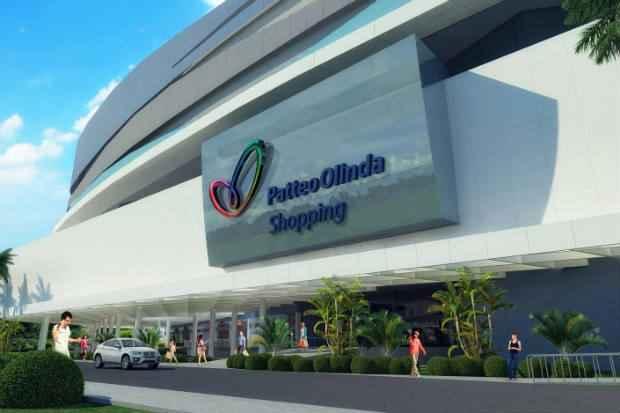 O centro de compras ter� vista para o mar e 355 lojas (Patteo Shopping/Divulga��o)