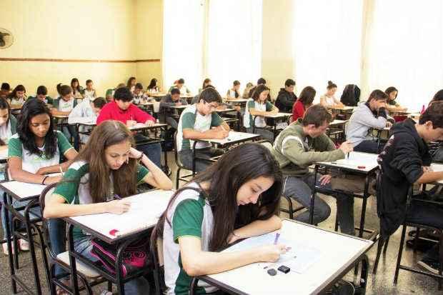 Pelo menos 43 mil escolas brasileiras n�o t�m equipamentos para exibir filmes. Foto: N�vea de Oliveira/SEE  (N�vea de Oliveira/SEE)