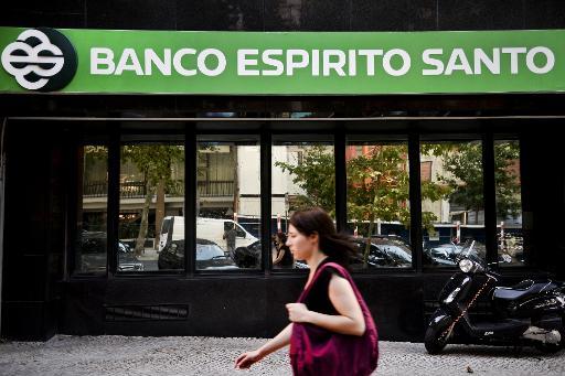 Ag�ncia do BES em Lisboa Foto: AFP Patricia de Melo Moreira