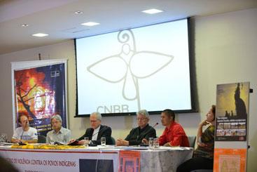 O Conselho Indigenista Mission�rio (Cimi) lan�a na sede da CNBB, o relat�rio Viol�ncia Contra os Povos Ind�genas no Brasil em 2013. Foto: Elza Fi�za/Ag�ncia Brasil