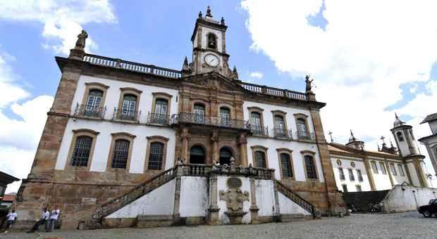 Fachada do Museu da Inconfid�ncia, que reabriu as portas com novos projetos h� oito anos  (Foto: Juarez Rodrigues/EM/D.A.Press)