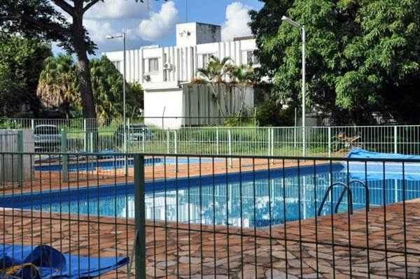 Piscina onde Daniela Camargo Casali, 2 anos, morreu afogada durante uma aula de nata��o no col�gio. Foto: Carlos Vieira/CB/D.A. Press