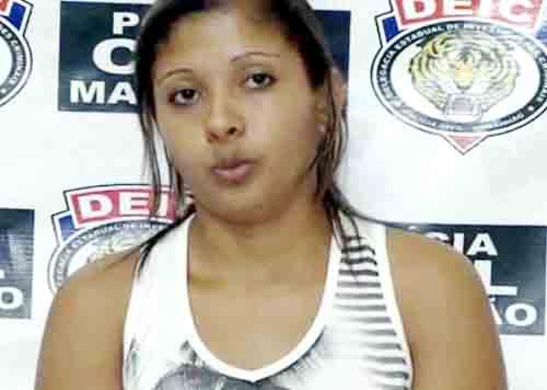 Madriely teria assassinado a ex-patroa por causa de d�vidas trabalhistas. Foto: Pol�cia Civil MA/Divulga��o