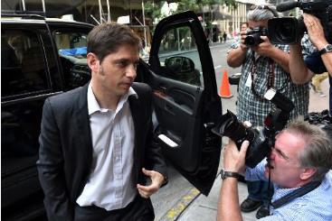O ministro da Economia argentino, Axel Kicillof, � visto em 30 de julho de 2014. Foto: � AFP/STAN HONDA (O ministro da Economia argentino, Axel Kicillof, � visto em 30 de julho de 2014. Foto: � AFP/STAN HONDA)