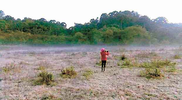 Em Monte Verde, term�metros registraram m�nima de 3,8 graus. Foto: Ricardo Cozzo/Divulga��o