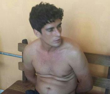 Leandro Dantas foi preso em rodovi�ria. Foto: Danilo Evangelista/D.A. Press