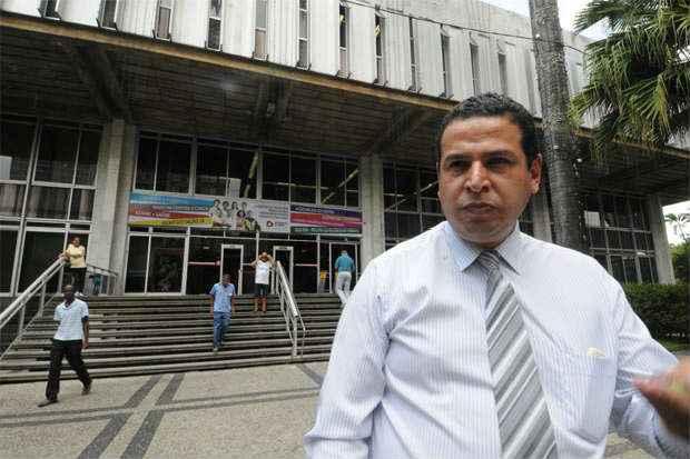 Para Cabo J�lio, condena��o pelo tribunal n�o o dexar� ineleg�vel. Foto: Beto Magalh�es/EM/D.A Press (Beto Magalh�es/EM/D.A Press)