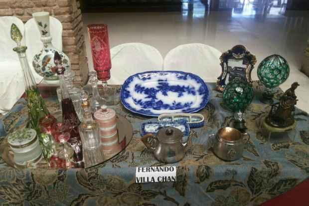 Parte dos  objetos que serão expostos no Salão de Antiguidades. Foto: Caderno1/Divulgação