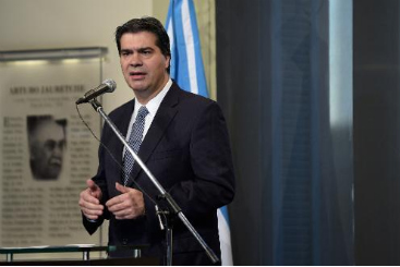 O chefe de gabinete argentino, Jorge Capitanich. Foto: � AFP/DANIEL GARCIA (O chefe de gabinete argentino, Jorge Capitanich. Foto: � AFP/DANIEL GARCIA)