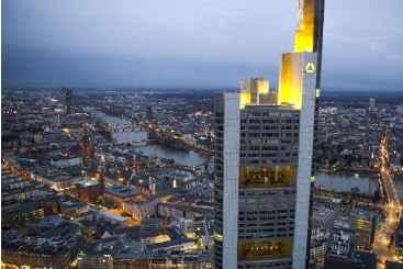 Vista de Frankfurt. Foto: � DPA/AFP/Daniel Reinhardt (Vista de Frankfurt. Foto: � DPA/AFP/Daniel Reinhardt)