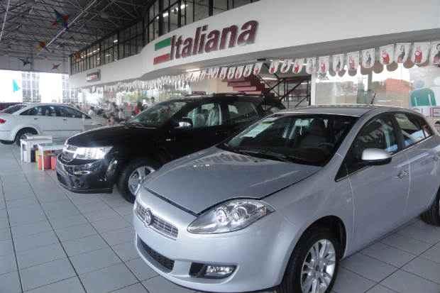 Fiat adota estrat�gia para atrair consumidor �s revendas de Pernambuco. Foto: Mirella Falc�o/DP/D.A Press