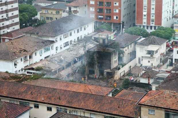 Acidente que vitimou o ex-governador de Pernambuco Eduardo Campos aconteceu em Santos, São paulo. Foto: Futura Press/Estadão Conteúdo