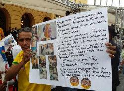 Cleiton Braz foi ao local prestar homenagem. Foto: