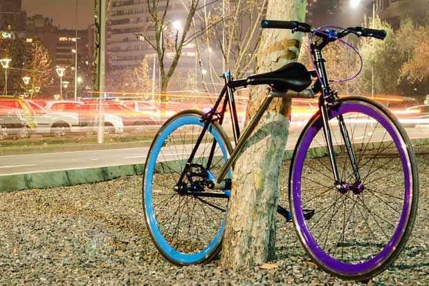 """Caso alguém consiga violar o """"cadeado"""", a bike ficará inutilizada. Foto: Yerka Project/Divulgação"""
