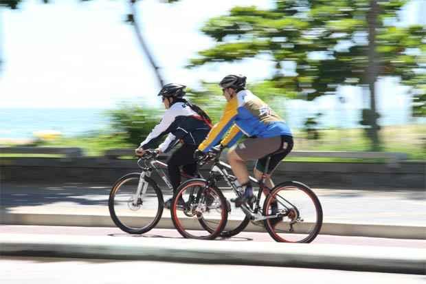 O Dia do Ciclista serve como um alerta para segurança nas ruas. Foto: Lais Telles/Esp DP/D.A Press