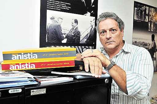 Filho do ex-presidente, Jo�o Vicente destaca que o principal objetivo do espa�o � contar a hist�ria de Jango para as futuras gera��es. Foto: Ant�nio Cunha/CB/D.A. Press