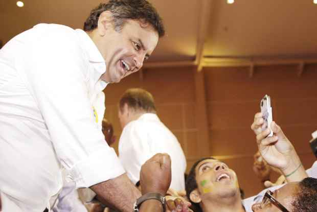A�cio faz campanha em Salvador. Foto: Igo Estrela/ObritoNews