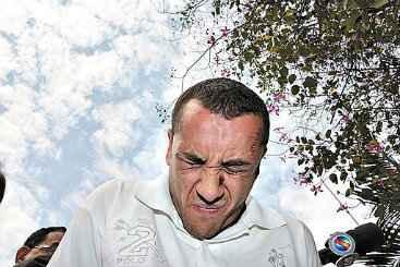 Assassino confesso do cartunista Glauco, Carlos Eduardo � suspeito de ter cometido um latroc�nio em Goi�nia. Foto: Edilson Pelicano/DM (Edilson Pelicano/DM)