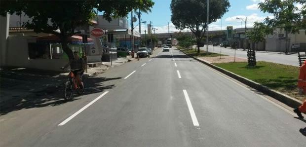 A Avenida Agamenon Magalhães é uma das vias por onde a ciclofaixa vai passar. Foto: Prefeitura de Caruaru/Divulgação