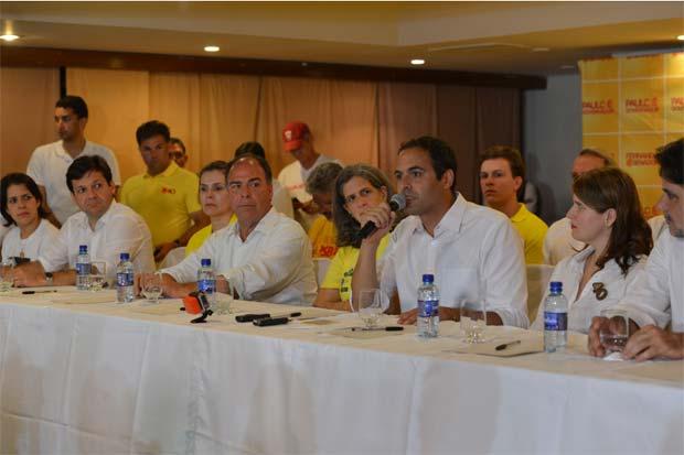 Entrevista coletiva após o resultado. Foto: Antônio Cruz/Abr