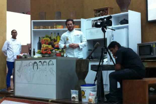 Dalton cresceu na cozinha do restaurante Gosto com Gosto, no Rio. Fotos: Vitória Maciel/Esp. DP/D. A Press