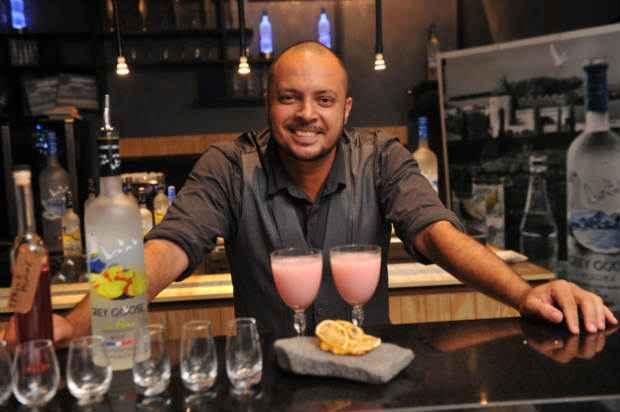 Luciano Melo foi o terceiro lugar. Foto: Grey Goose/Divulgação