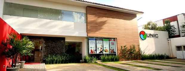 A academia é a responsável por promover a feirinha. Foto: Unic/Divulgação