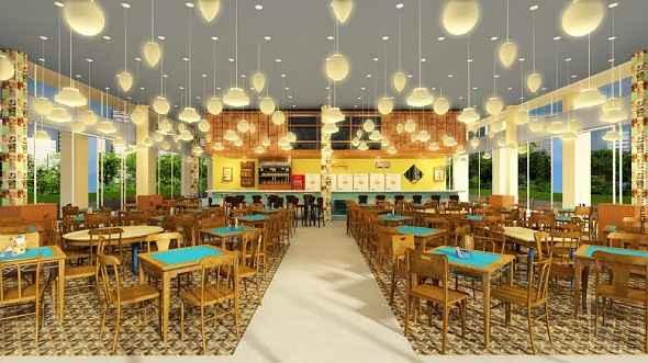 Seu Boteco é um dos sete novos empreendimentos gastronômicos no local. Foto: Seu Boteco/Divulgação