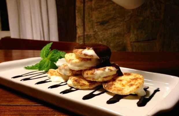 A sobremesa da Oficina do Sabor foi elaborada junto com o chef Paulão. Foto: Oficina do Sabor/Divulgação
