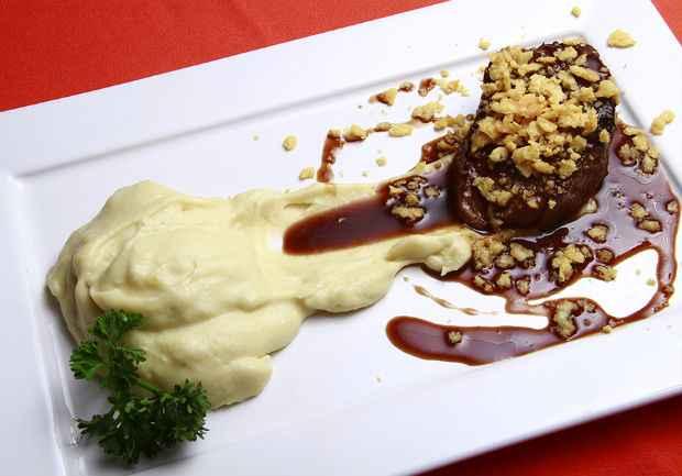 Bombom de filé é uma das atrações do menu do Nalleth no Restaurante Week