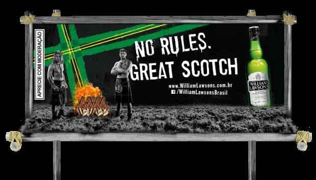 Os homens estarão vestidos de highlanders. Foto: Marqueterie/Divulgação