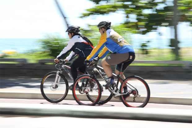 Quedas e excesso de treinos podem levar a lesões em várias partes do corpo. Foto: Laís Telles/Esp.DP/D.A Press