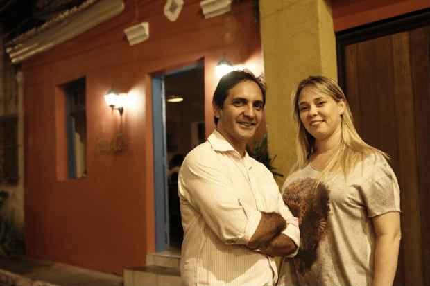 Os empresários inauguraram o restaurante há pouco mais de dois meses. Foto: Blenda Souto Maior/DP/D.A Press
