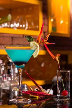 O welcome drinque pode ser com ou sem álcool. Foto: Viegas/Divulgação